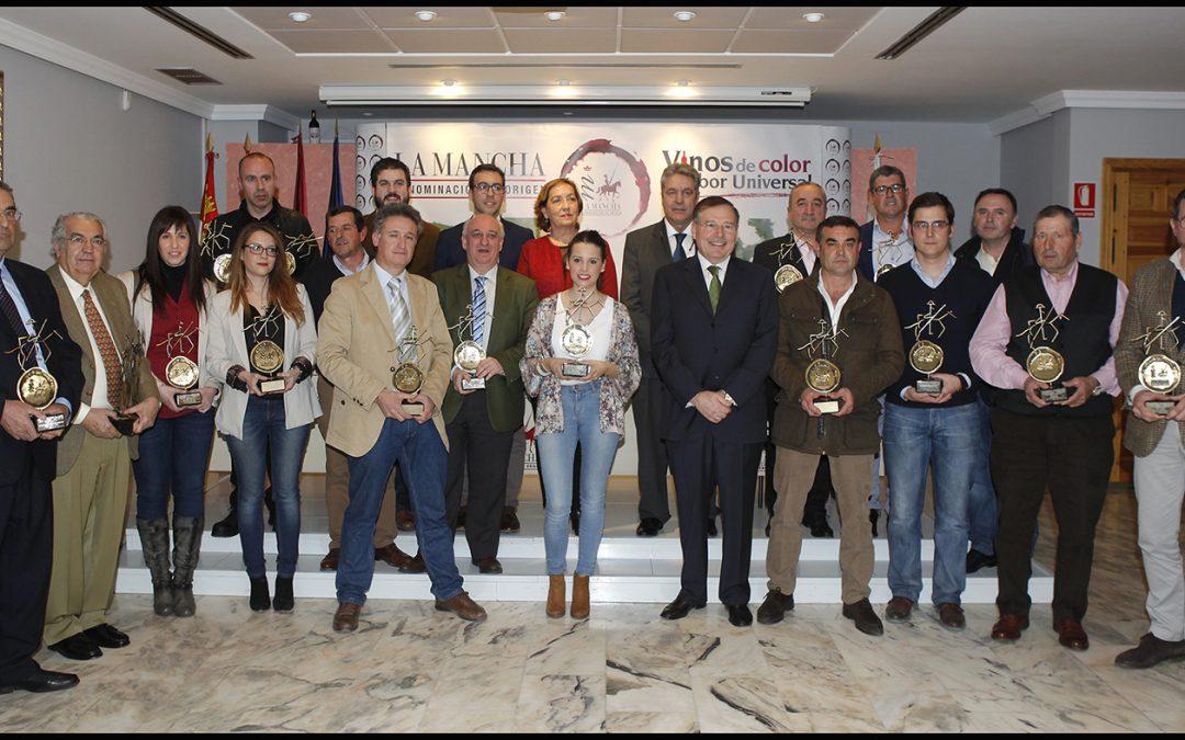 Premios 2014 DO. La Mancha. Dos nuevos Galardones a Bodegas «PUENTE DE RUS»
